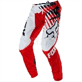 Pantalon FOX Demo DH Savant rouge/blanc