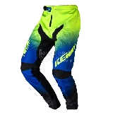 Pantalon enfant KENNY BMX Elite noir/bleu/lime