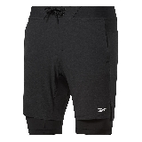Reebok Ts 2in1 Epic Short Noir  L