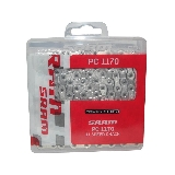 SRAM Chaine PC-1170 HollowPin120 maillons 11-vit. avec Power-Lock Argent