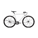 Creme Cycles Tempo Solo white with rack 3s Blanc  L 699,00 € chez Lepape.com