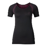Odlo T-Shirt Manches Courtes Essentials Seamless Noir  M