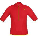 Gore Wear Maillot Magnitude Comp Zip Rouge  XL