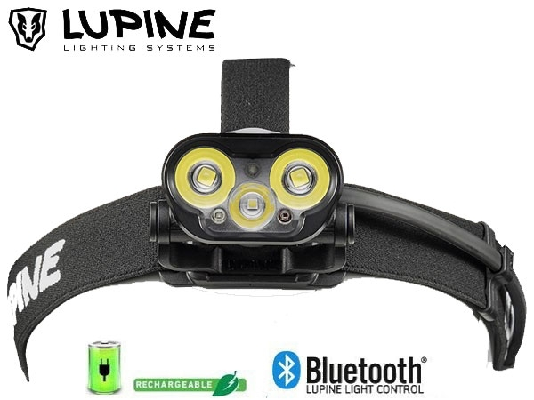 Frontale rechargeable Lupine BLIKA RX 7 bluetooth